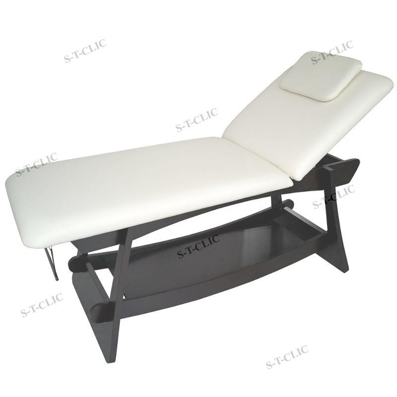TABLE BOIS FIXE DELTO WENGUE