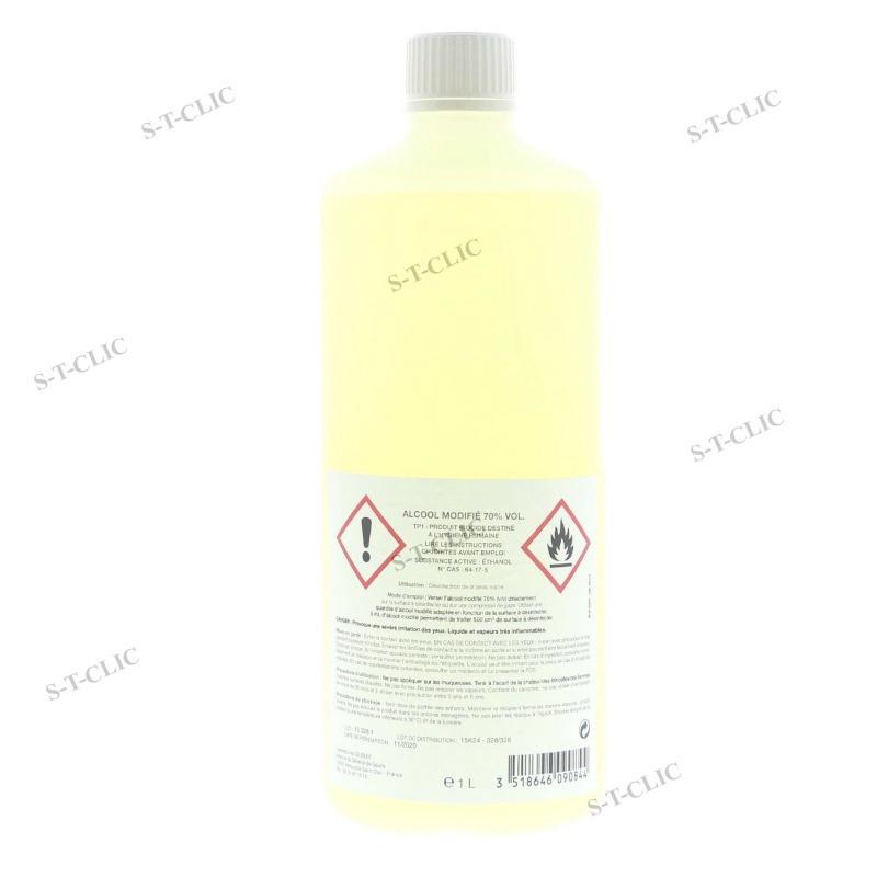 ALCOOL DESINFECTANT 70° 1 L