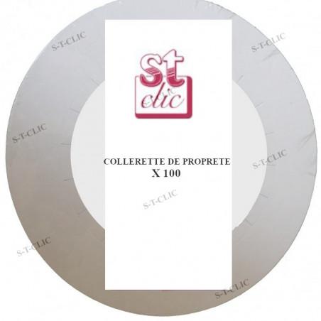 COLLERETTE DE PROPRETE X100